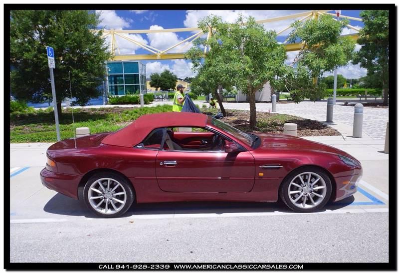 2002 Aston Martin DB7 Vantage Volante 2dr Convertible - Sarasota FL