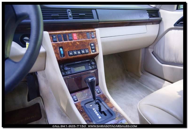 1995 Mercedes-Benz E-Class E 320 2dr Convertible - Sarasota FL