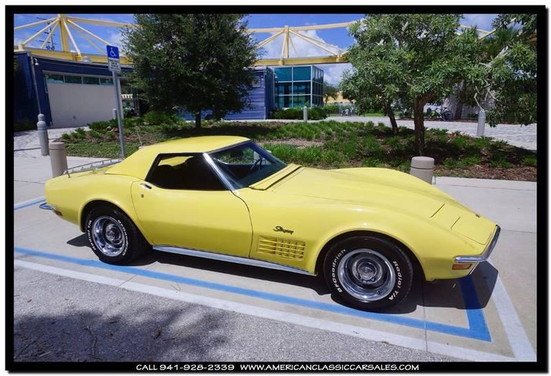1970 Chevrolet Corvette  - Sarasota FL