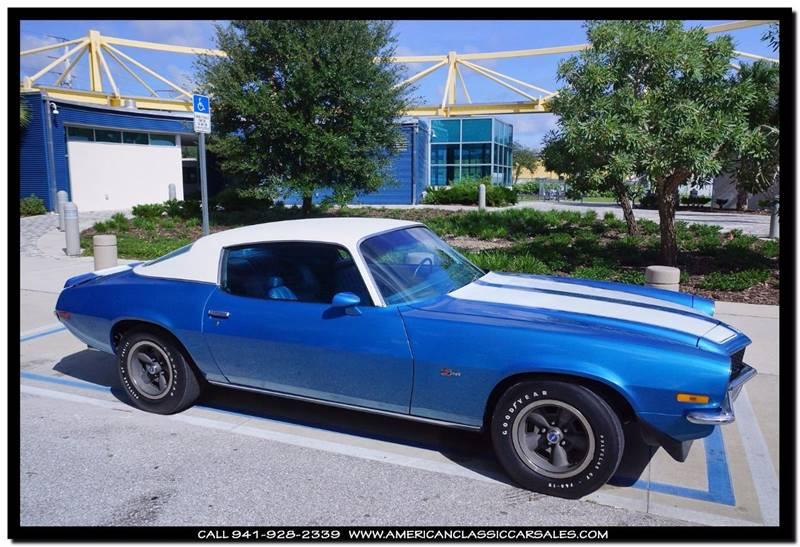 1970 Chevrolet Camaro  - Sarasota FL