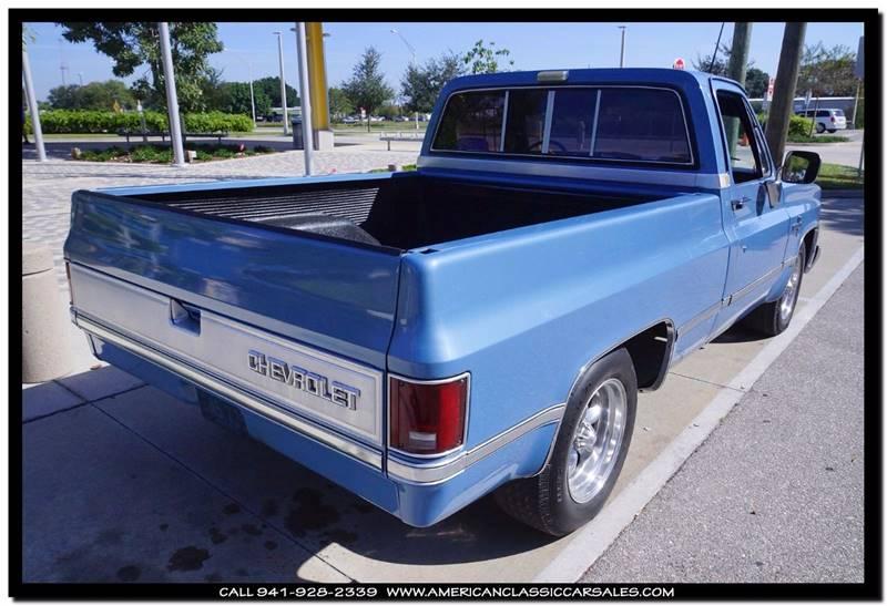 1985 Chevrolet C/K 10 Series 2dr C10 Silverado Standard Cab SB - Sarasota FL