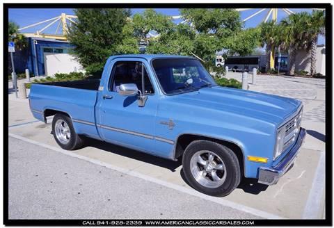 1985 Chevrolet C/K 10 Series for sale in Sarasota, FL