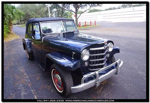 1950 Willys Jeepster for sale in Sarasota, FL