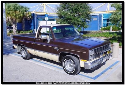 1984 Chevrolet C/K 10 Series for sale in Sarasota, FL