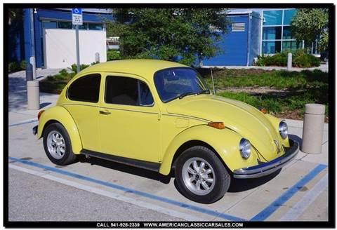 1973 Volkswagen Beetle $10,610