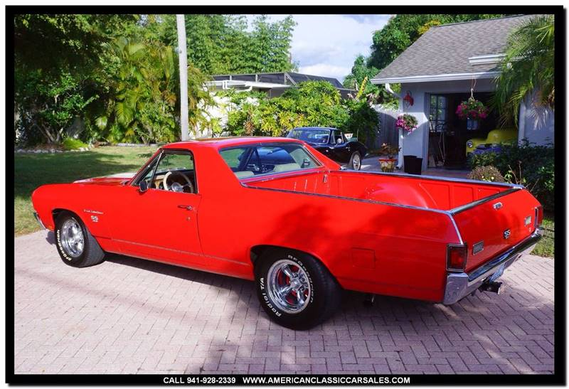 1970 Chevrolet El Camino SS - Sarasota FL
