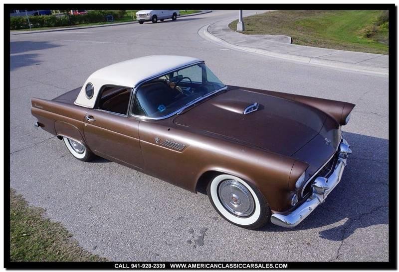 1955 Ford Thunderbird  - Sarasota FL