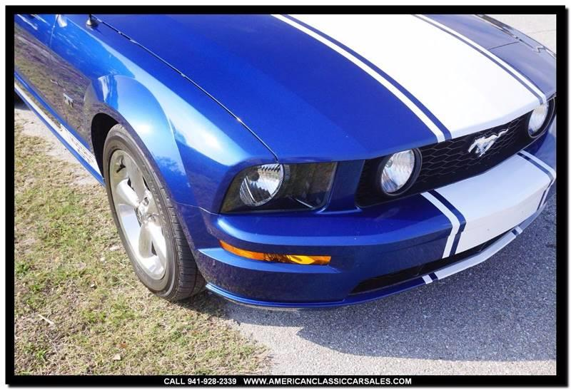 2006 Ford Mustang GT Premium 2dr Convertible - Sarasota FL