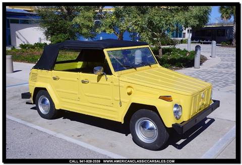 1973 Volkswagen Thing for sale in Sarasota, FL