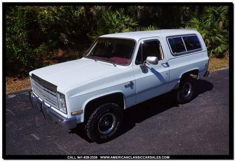 1986 Chevrolet Blazer