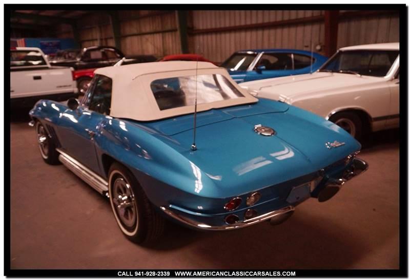 1965 Chevrolet Corvette Roadster - Sarasota FL