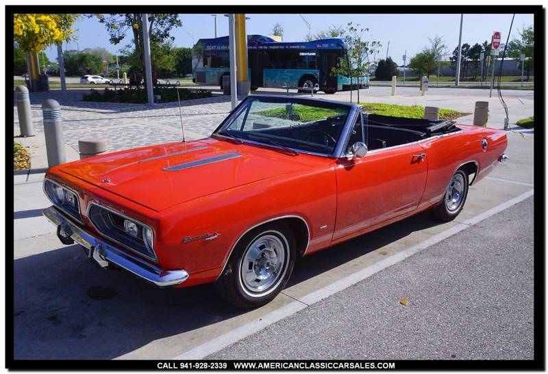 1967 Plymouth Barracuda  - Sarasota FL