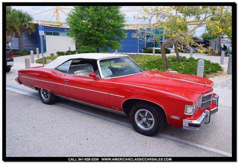 1975 Pontiac Grand Ville for sale in Sarasota, FL