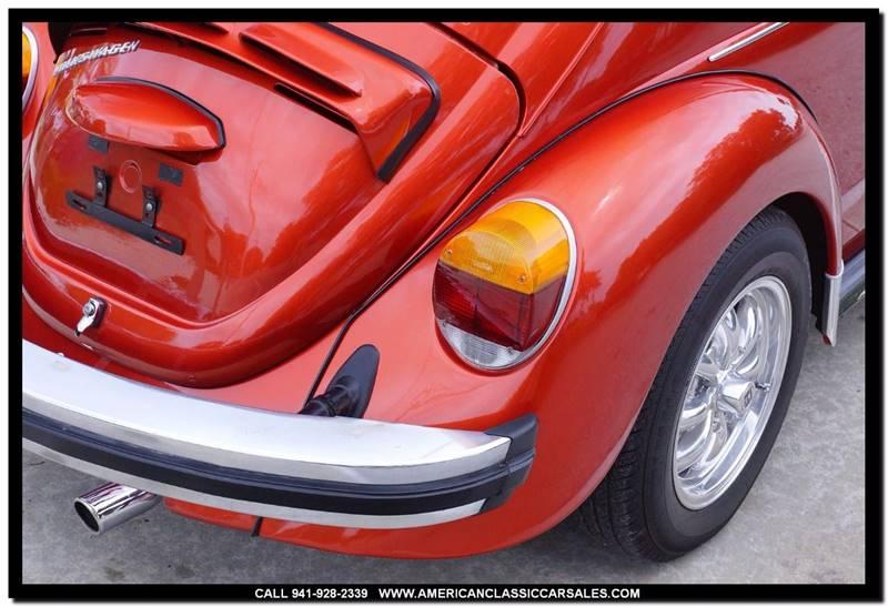 1974 Volkswagen Super Beetle  - Sarasota FL