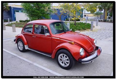 1974 Volkswagen Super Beetle for sale in Sarasota, FL