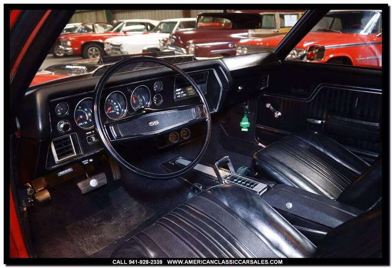 1970 Chevrolet Chevelle SS 454 - Sarasota FL