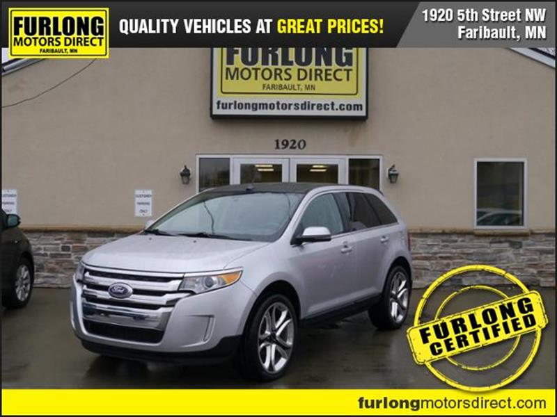 Ford Edge For Sale At Furlong Motors Direct In Faribault Mn