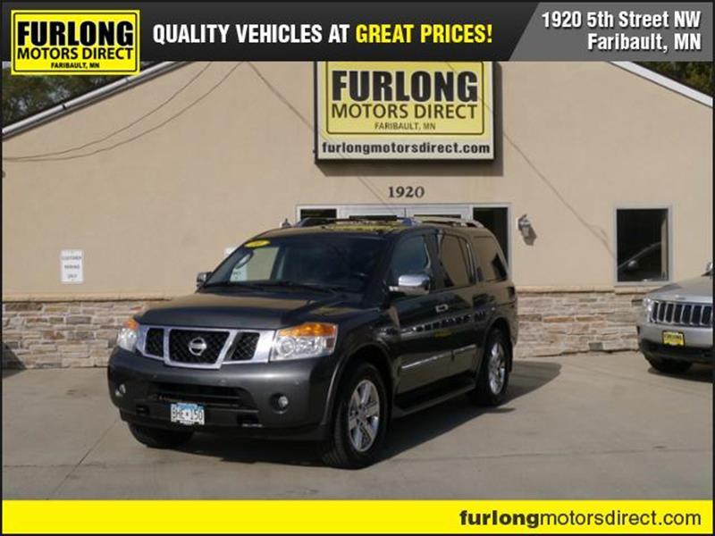 2010 Nissan Armada For Sale At Furlong Motors Direct In Faribault MN