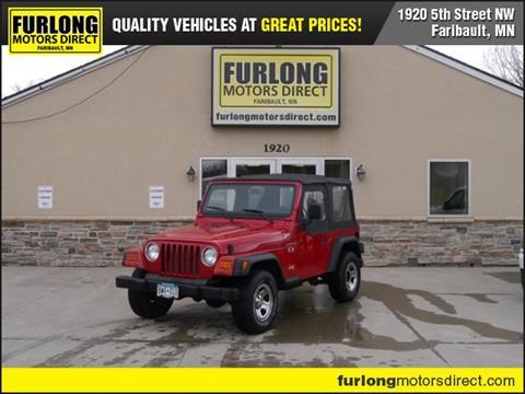 2002 Jeep Wrangler for sale in Faribault, MN