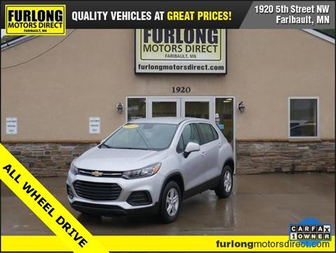 2017 Chevrolet Trax for sale at Furlong Motors Direct in Faribault MN