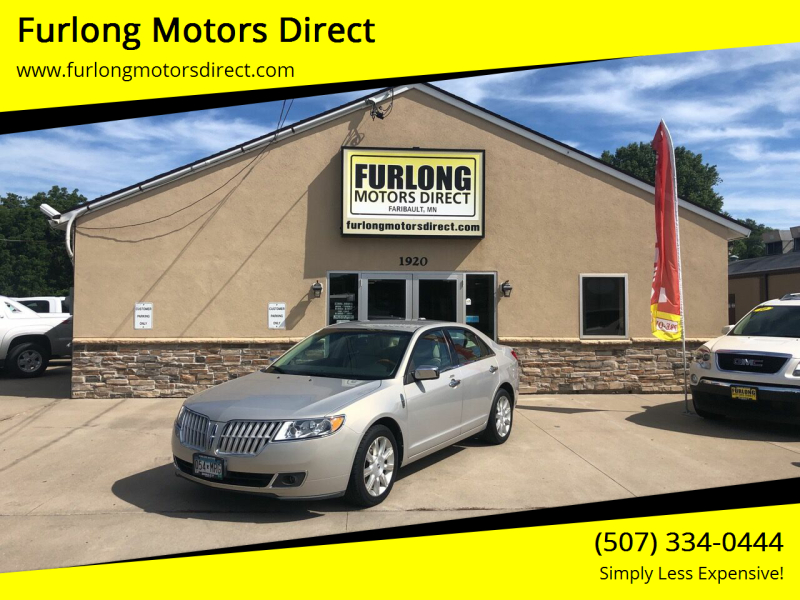 2010 Lincoln MKZ for sale at Furlong Motors Direct in Faribault MN