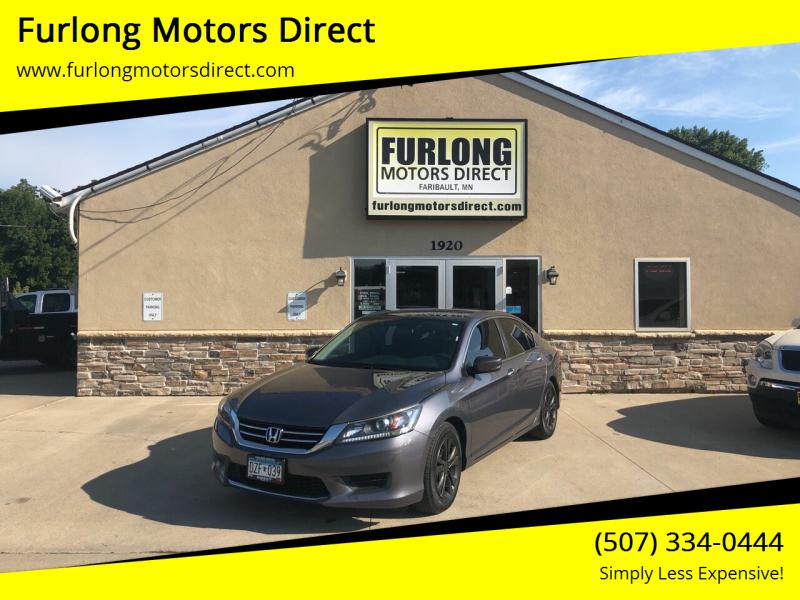 2015 Honda Accord for sale at Furlong Motors Direct in Faribault MN