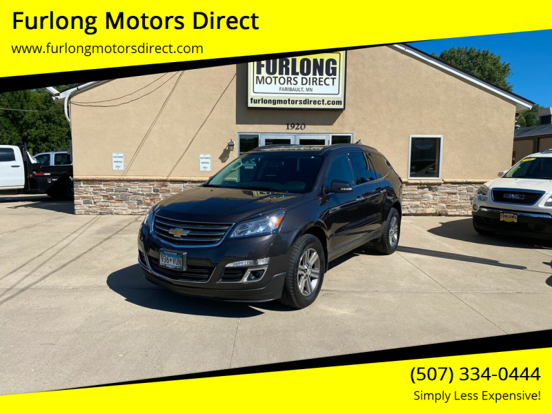 2017 Chevrolet Traverse for sale at Furlong Motors Direct in Faribault MN