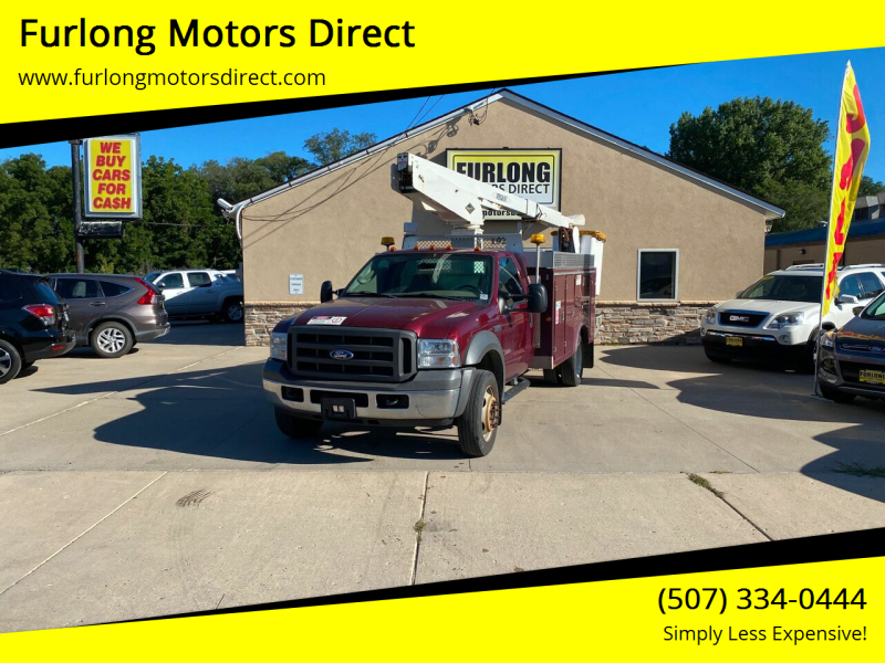 2005 Ford F-550 Super Duty for sale at Furlong Motors Direct in Faribault MN