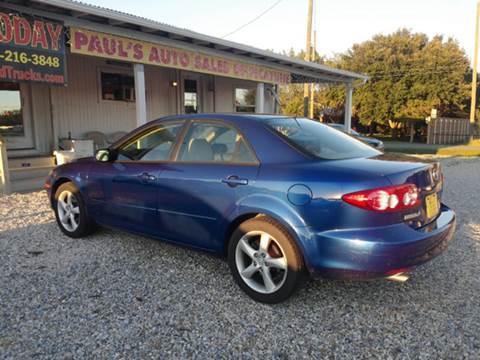 2005 Mazda MAZDA6 for sale at Paul's Auto Sales of Picayune in Picayune MS