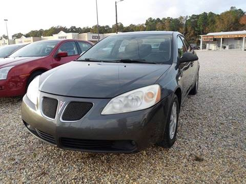 2006 Pontiac G6 for sale at Paul's Auto Sales of Picayune in Picayune MS