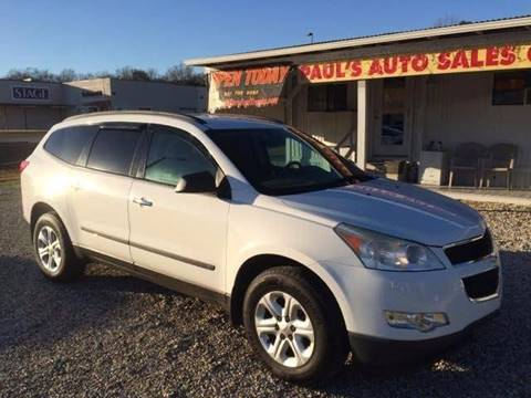 2009 Chevrolet Traverse for sale at Paul's Auto Sales of Picayune in Picayune MS