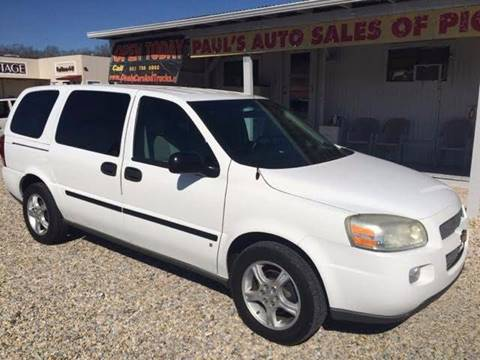 2008 Chevrolet Uplander for sale at Paul's Auto Sales of Picayune in Picayune MS