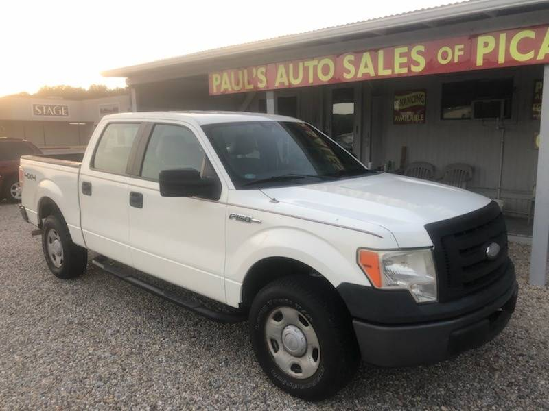 2009 ford f 150 supercrew in picayune ms paul 39 s auto sales of picayune. Black Bedroom Furniture Sets. Home Design Ideas