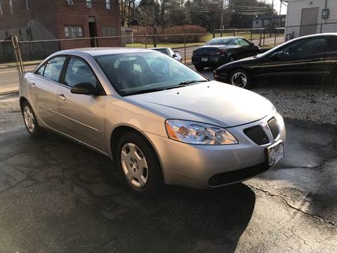 2006 Pontiac G6 for sale in Akron, OH