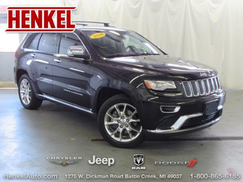 2014 Jeep Grand Cherokee for sale in Battle Creek, MI