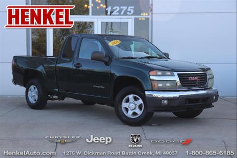 2004 GMC Canyon for sale in Battle Creek, MI