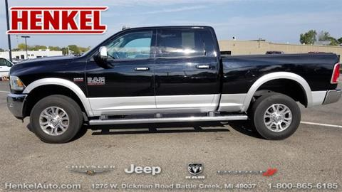2015 RAM Ram Pickup 2500 for sale in Battle Creek, MI