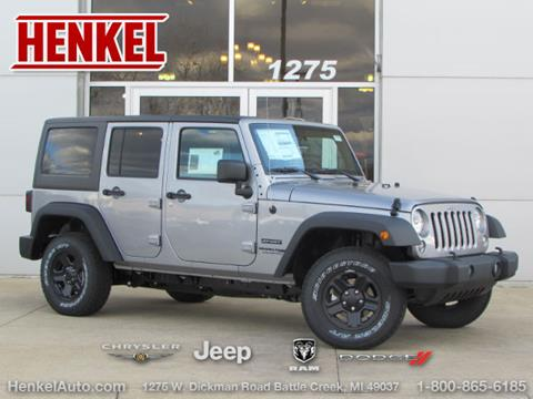 2018 Jeep Wrangler Unlimited for sale in Battle Creek, MI