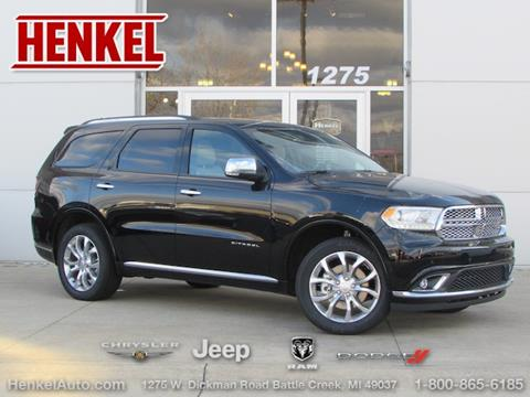 2018 Dodge Durango for sale in Battle Creek, MI