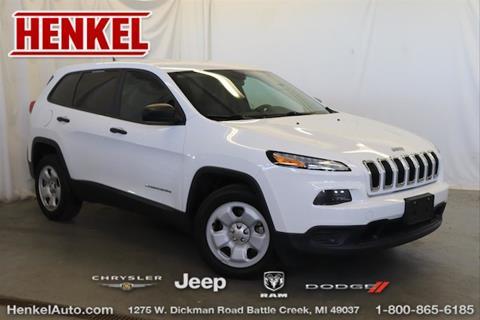 2014 Jeep Cherokee for sale in Battle Creek, MI