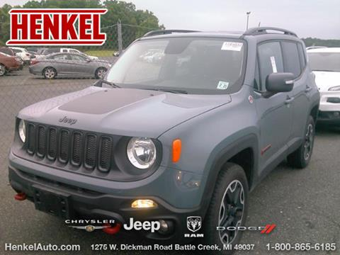 2016 Jeep Renegade for sale in Battle Creek, MI