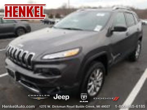 2018 Jeep Cherokee for sale in Battle Creek, MI