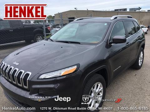 2016 Jeep Cherokee for sale in Battle Creek, MI