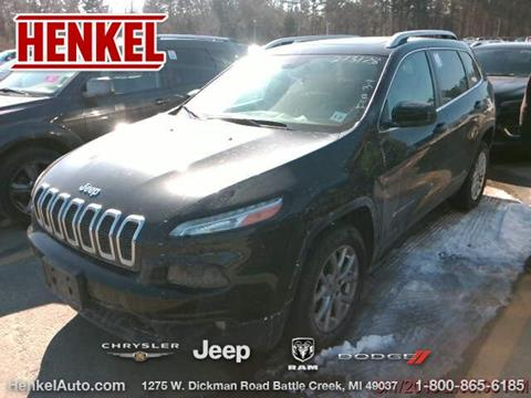 2016 Jeep Cherokee for sale in Battle Creek, MI
