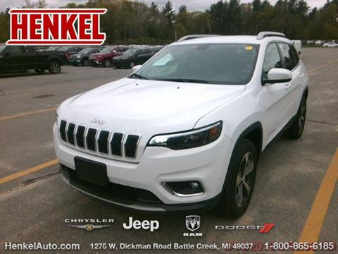 2019 Jeep Cherokee for sale in Battle Creek, MI