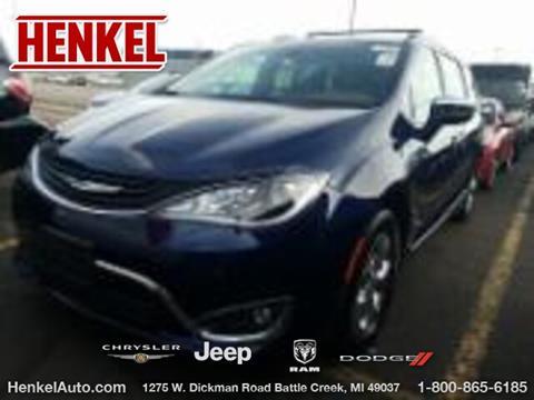 2018 Chrysler Pacifica Hybrid for sale in Battle Creek, MI