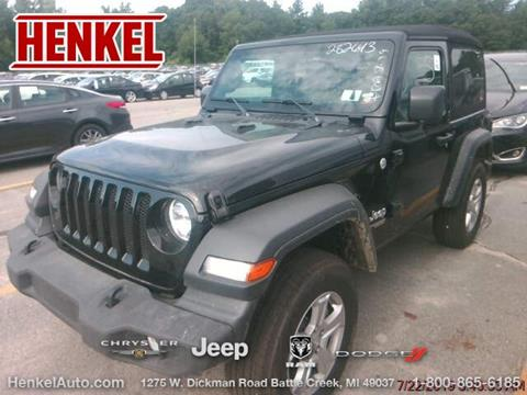 2019 Jeep Wrangler for sale in Battle Creek, MI