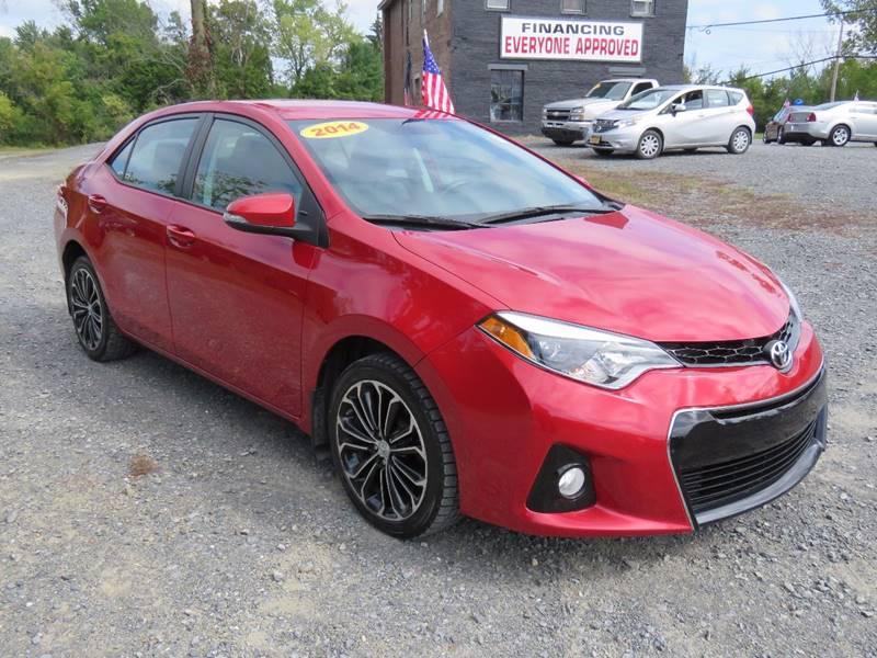 2014 Toyota Corolla For Sale >> 2014 Toyota Corolla S In Hudson Ny Greenport Auto