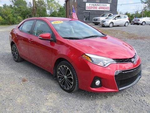 2014 Toyota Corolla for sale at GREENPORT AUTO in Hudson NY