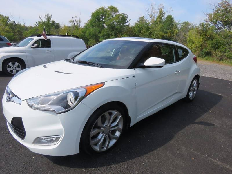 2012 Hyundai Veloster for sale at GREENPORT AUTO in Hudson NY